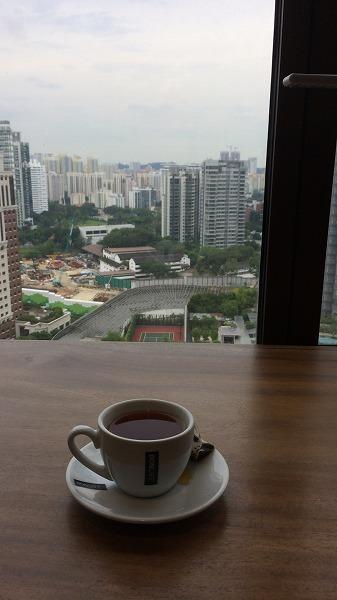 コンラッドからタクシーで移動して、次のホテルの<br />シンガポール・マリオット(Singapore Marriott Tang Plaza Hotel)へ。<br /><br />到着したのが14時ちょい過ぎくらいかな?<br />アーリーチェックインを事前に希望してたけど、部屋の準備ができてないので<br />ラウンジで待っててと、ラウンジのキーをもらいました。<br /><br />