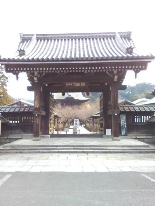 日本のお寺さんは木の感じを前面に出してきますね。