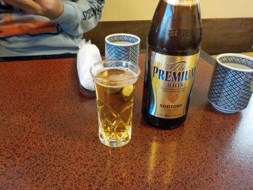 今回の旅行は運転なし<br />昼からビール飲めます\(^o^)/<br />