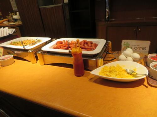 ホテルロコイン松山の朝食
