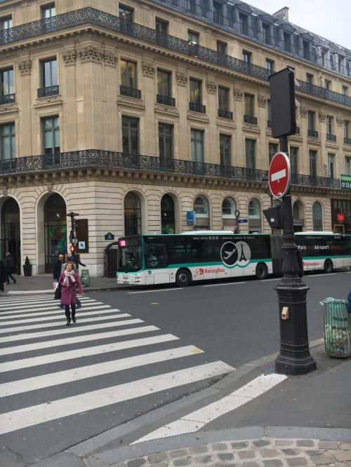 身軽になったところで、ロワシーバス乗り場の下見。