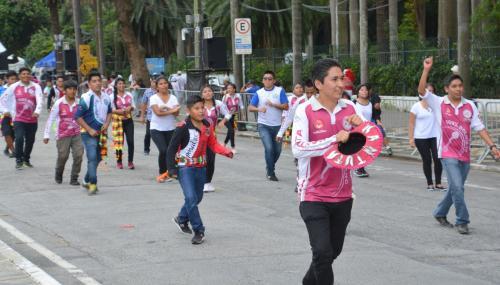 【ブラジルでボリビアカーニバル】<br /><br />実は、この催事は、毎年、サンパウロやリオのカーニバルが始まる一週間前に、「プレ・カーニバル」と称し、ブラジルの各都市、あちらこちらで開かれている「本格的なカーニバルの前座」的な位置付けのひとつ。