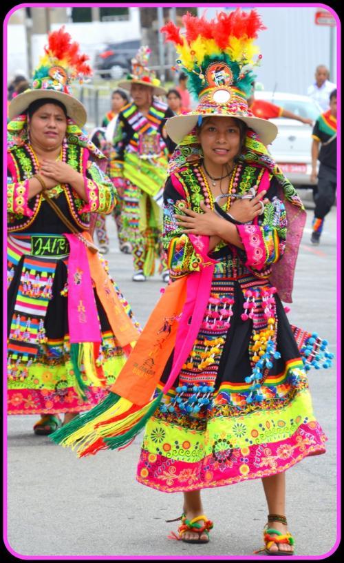 【ブラジルでボリビアカーニバル】<br /><br />そんな場所に沢山のボリビア人たちが生活しています。