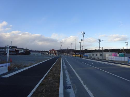 富岡駅の周辺は再開発の工事中。