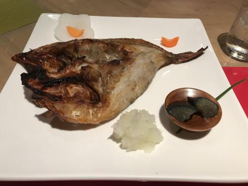 キンキの一夜干し。<br />これも美味い!さすが北海道という味。