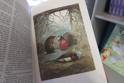 日本の挿し絵って近年全部マンガみたいで好きじゃありません。<br /><br />素敵な絵。<br />私が子供の頃持っていたアンデルセンは、きっとこんな絵だった筈です…。