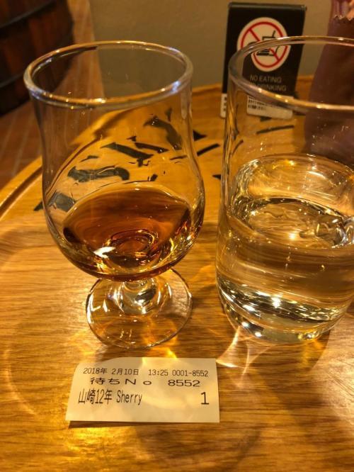 有料ですが試飲できるコーナーもあります!<br />品薄の山崎12年をいただきました。<br />でもウィスキーはやっぱり私には…早すぎたかなー<br />でも樽の香りが香水のようで酔いしれました