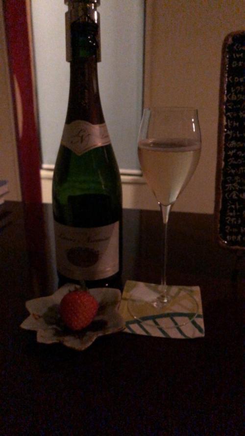 夜は友人と合流しました!<br />友人が予約してくれていたワインバーミュゼさんへ<br />シャンパンがとってもおいしくてついつい飲みすぎました<br />カウンター越しにはお庭が見えて京都を感じさせる素敵な雰囲気でした