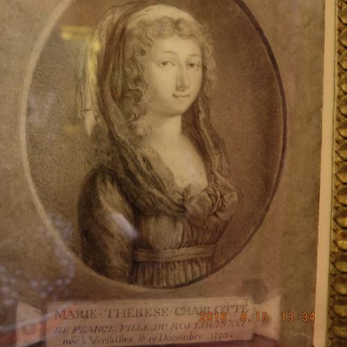 Marie-Thérèse de France (1778-1851)<br /><br />ルイ16世とマリーアントワネットの一番上の子供。