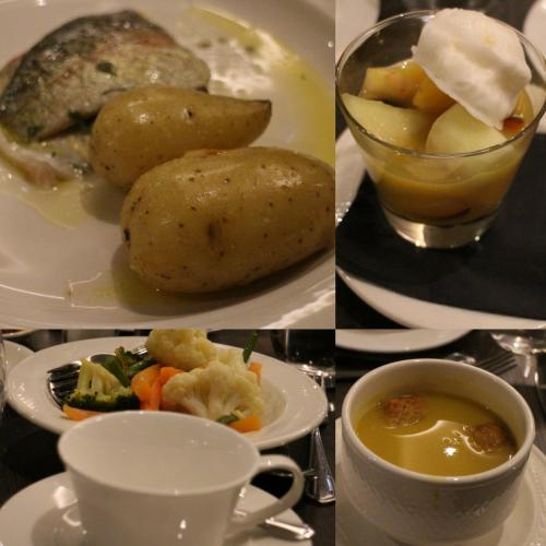 ホテルdinner 魚料理