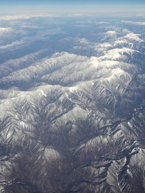 アルプス山脈かしら?