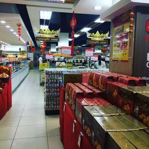 シェムリアップラッキーモールショッピングモールである。