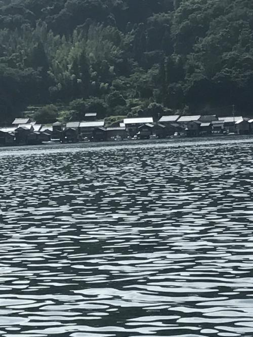 伊根の集落は道路が狭く駐車場がない?ようで散策したかったのですが…。大阪ナンバーの車が集落を通って行ったので行けるのかと思ったのですが行き止まりになっていて引き返しました。