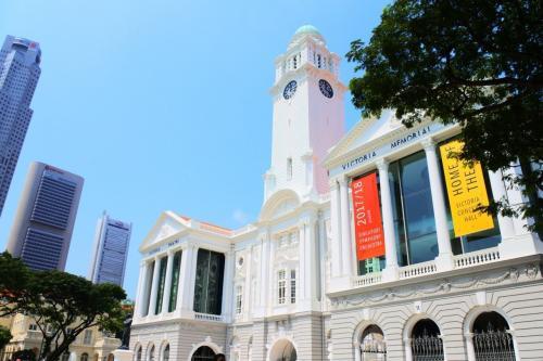 これから、楽しみにしていた徒歩でナショナルギャラリーシンガポールへ向かいます。