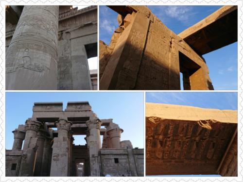 コム・オンボ神殿はグレコ・ローマン時代の珍しい二重構造の神殿です。<br />医療関係のレリーフがありました。