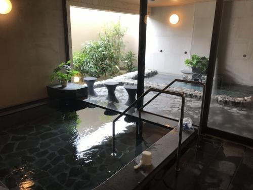 大浴場もありました。<br />人工温泉とのことでしたが、ここのお風呂は気持ち良かったです!