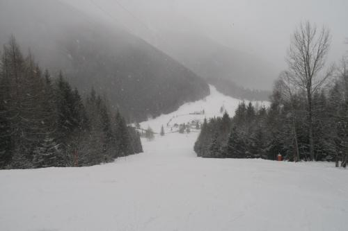 ゴール間近!! ここはこれで終わり!! 脚がイタイだけのスキーだったなぁ~ しょぼ~ん!!