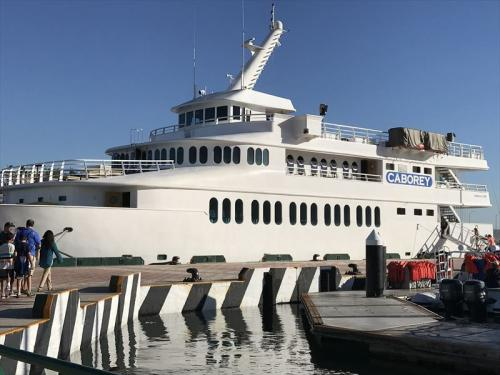 CABORYという船に乗りました<br />これはホテルのコンシェルジュが手配してくれました