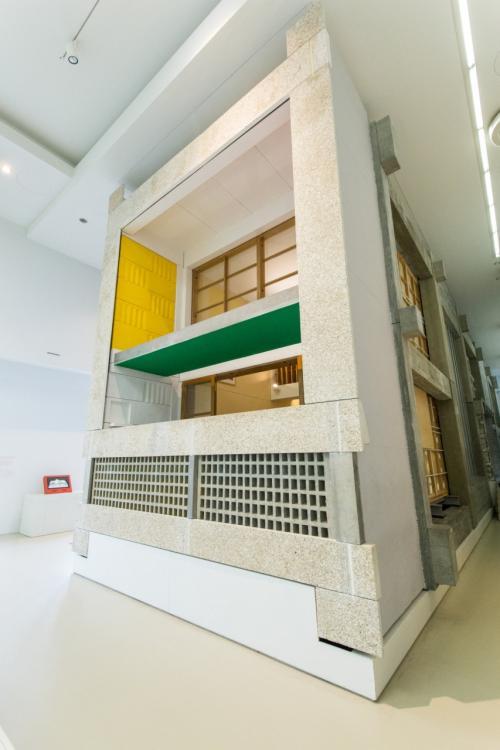 次は建築美術館へ。<br />コルビジェ設計のユニテ・ダビタシオンをもう一度見たかったんです。