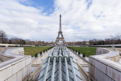 建築美術館はエッフェル塔を見るにも良い場所です。