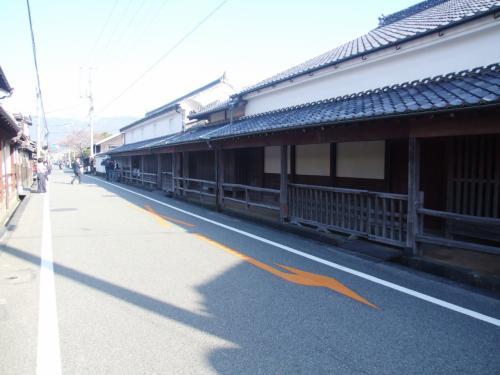 菊屋家住宅 <br /><br />江戸初期の建築、現存する商家としては最古の建物