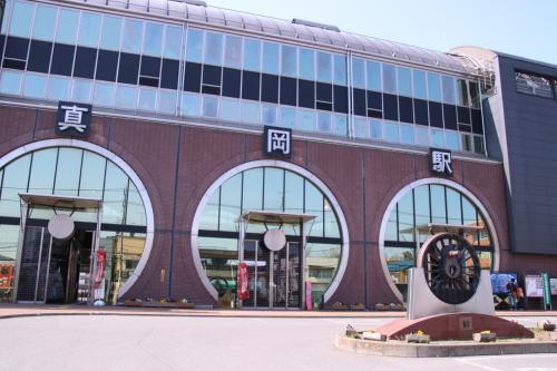 真岡駅の東口です。