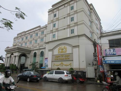 3000円台でバスタブも付いた、とても快適なホテルでした。