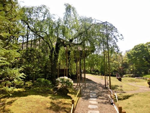 寛永年間(1624~1644)に、茶人として著名な「小堀遠州」によって作庭されたと言われています。