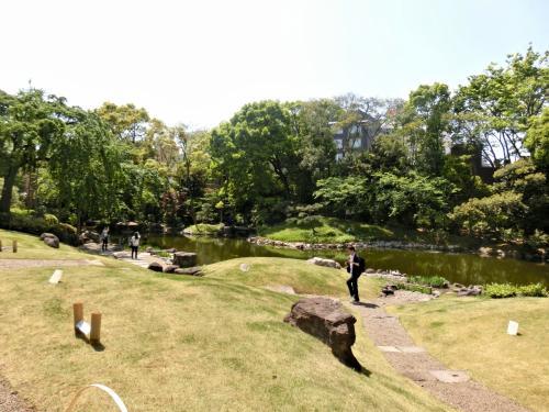 平成二十三年には江戸時代より続く寺院庭園としての価値を評価され、国の名勝に指定されました。