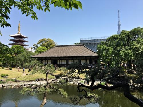 金龍山浅草寺の伝法院です。