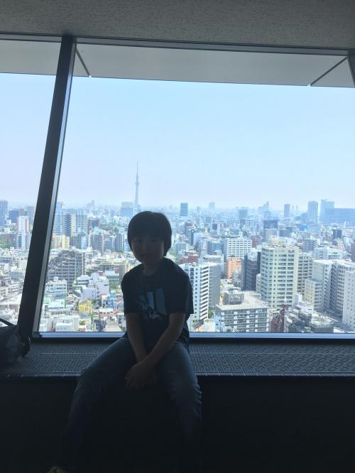 メトロ24いくつの駅クリアできるかな?<br />まずは後楽園にて、<br />文京シビックセンターからの眺め
