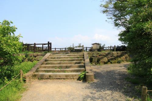 「丑寅櫓跡」<br />この石垣は金沢城最古の石垣だそうです。
