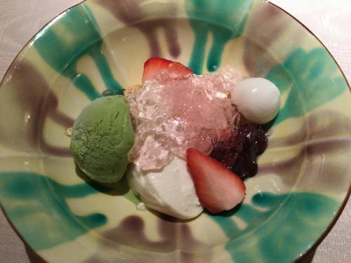 「デザート」<br />本日のデザート(豆乳のババロア)