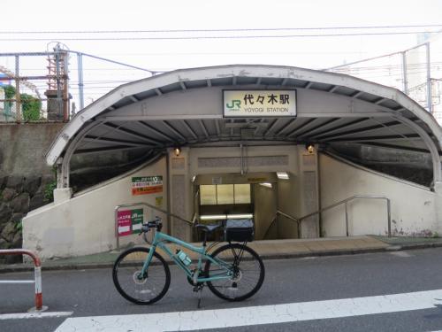 ◆3駅目 7:39「代々木駅」<br /><br />この辺りを歩いている若者は全員予備校生に見えてしまいます。