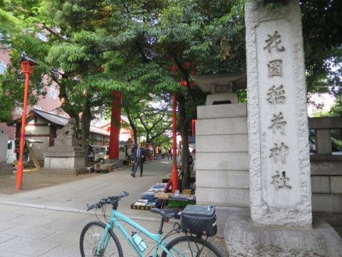 ◆7:54「花園神社」<br /><br />ちょっとだけ寄りました。