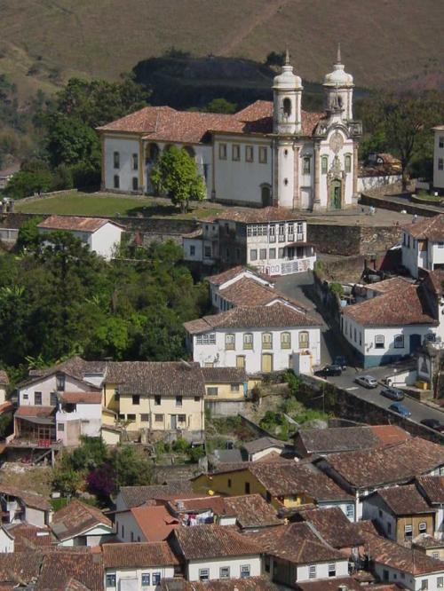 アレイジャジーニョの作で、「ミナスの宝石」と称されているブラジル・バロック最高傑作の Igreja Sao Francisco de Assis(サン・フランシスコ・ジ・アシス教会)