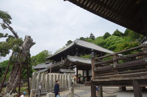 東大寺二月堂。<br />3つの観音堂のご朱印もらいました。<br />もちろん参拝して。