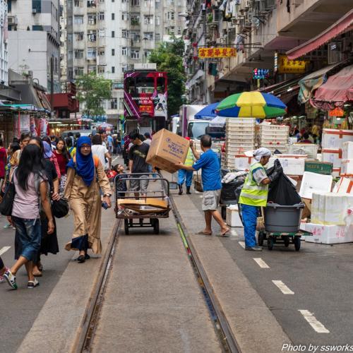 相変わらずのマイペースっぷりが香港らしい