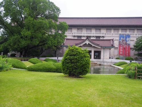 東京国立博物館本館が見えてきました。