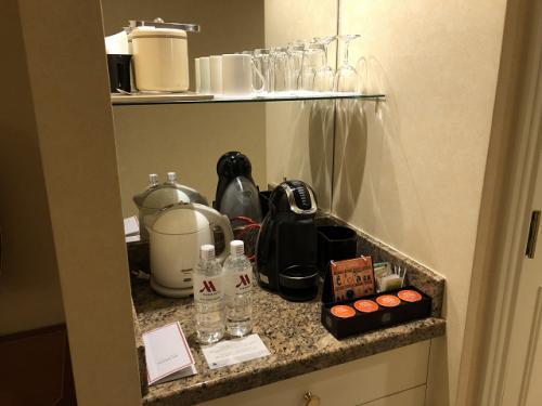 水2本無料<br />後で知りましたが、コーヒーマシンも無料だそうです