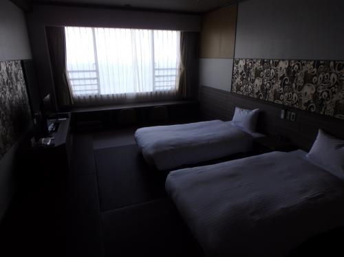 ホテルの好意で部屋をアップグレードしてくれました^^