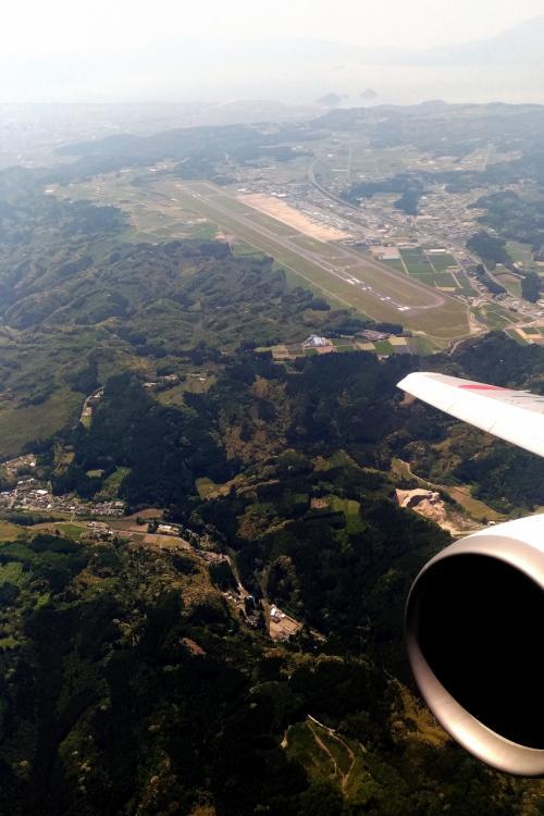 鹿児島空港から羽田へ。