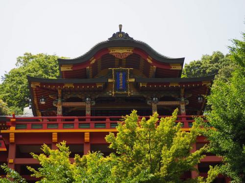 続いて祐徳稲荷神社へ。