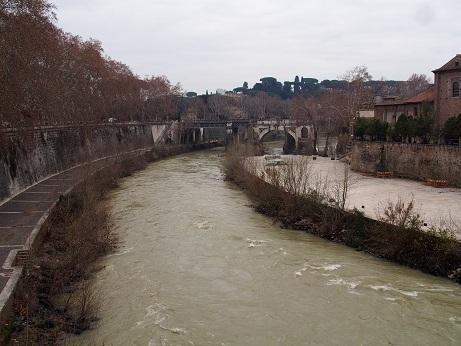 川は澄んでいないのであまり綺麗には見えません。