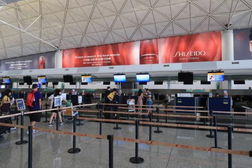 7時40分。空港到着。<br /><br />〇 香港国際空港第一ターミナル
