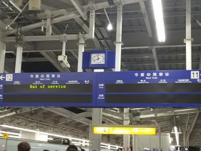 4時間弱で鹿児島中央駅へ到着です 前は往復飛行機だったので、自分の記憶では 鹿児島中央駅は初めての訪問になります ちょっとうれしい(^^)