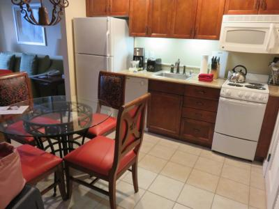 宿泊ホテルはマリオットグランドシャトー<br />キッチン、洗濯機がついていました。