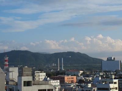 なぜか帰ろうとするととてもいいお天気。<br />もっと滞在したくなっちゃう。