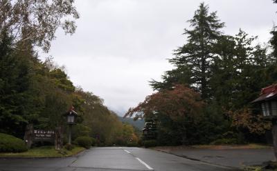 富士吉田西桂スマートICから約25分。これより富士ビューホテル。