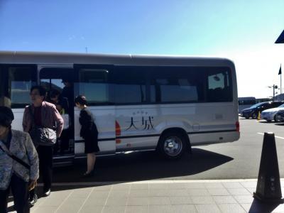 お客さんは マイクロバスの補助席を使うほどの満席。<br />90%  女性でーす。<br /><br />徳山駅から30分で到着。<br />自分で運転しなくていいし楽チン。